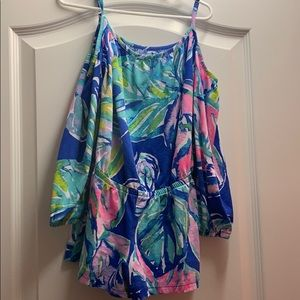 Lilly Pulitzer Girl's Romper